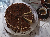 Torta al mascarpone (chocolate mascarpone cake)
