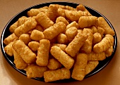 Bowl with Potato Croquettes