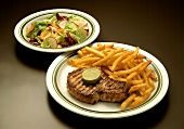 Pork Cutlet with French Fries