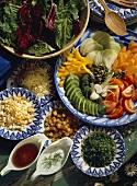 Summer Salad Ingredients