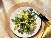 Dandelion Salad with Watercress