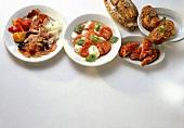 Four Italian Appetizers