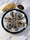 Sylt-style Oysters with Red Wine Sauce