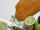 Salmon Fillet with Limes