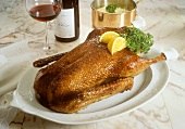 Roast Goose from the Oven