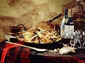 Spanish table scene