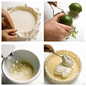 Baking lime pie