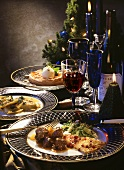 3-course Christmas meal