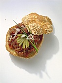 Sesame Roll with Tatar
