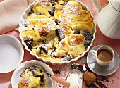 Apple-Quark Gratin with Poppy-Seed