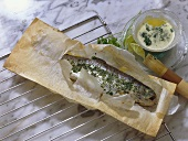 Stuffed Trout in Paper Wrapping