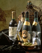 A Spanish Wine Selection Still Life