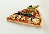 Pizza mit Artischocken & Peperoni