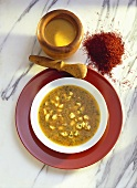 Strained Fish Soup with Rouille