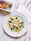 Pike-perch Terrine in Bacon Wrapping