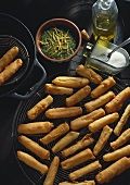 Black Salsify in Beer Batter