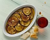 Marinated Eggplant Slices