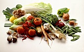 Colorful Vegetable Selection