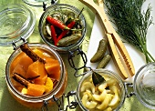 Three Kinds of preserved Vegetables