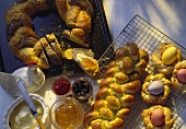 Easter Bread Wreath and Braided Easter Bread