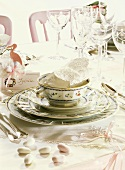 Table Setting for a Baptism