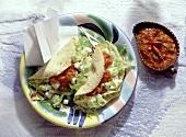 Taco with Mozzarella Stuffing