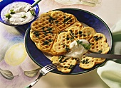 Spinach Waffles
