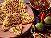 Waffles with Chilis