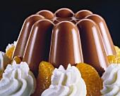 Chocolate Molded Pudding
