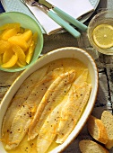Sole Fillet with Orange Sauce