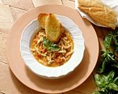 Trippa alla fiorentina (tripe stew), Tuscany, Italy