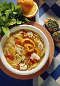 Fish stew with oranges