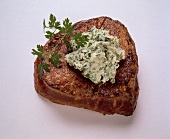 Chateaubriand with Herb Butter