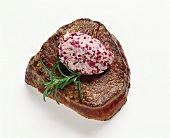 Chateaubriand with Red Wine Butter