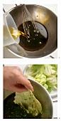 Salatsauce herstellen