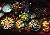 6-course Christmas meal