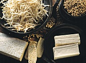 Assortment of Soybean Products