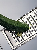 Zucchini with a Grater