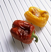 Roasting peppers
