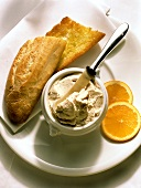 Mackerel Mousse with French Bread