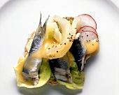 Smorrebrod with Pickled Herring