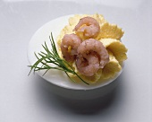 Filled Egg with North Sea Shrimp