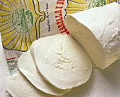 Slices of Italian Mozzarella