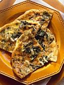 Frittata di bietole (chard omelette), Tuscany, Italy