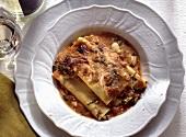 Cannelloni alla napoletana (Cannelloni with tomato & mozzarella)