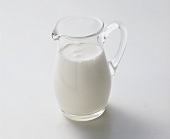 Glass Pitcher of Milk