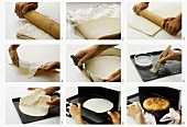 Making a puff pastry base - part 3