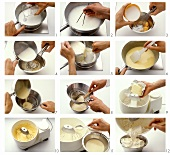 Making English butter cream