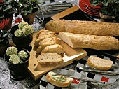 French Bread with Walnuts