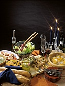 Romantic Buffet with Skewer